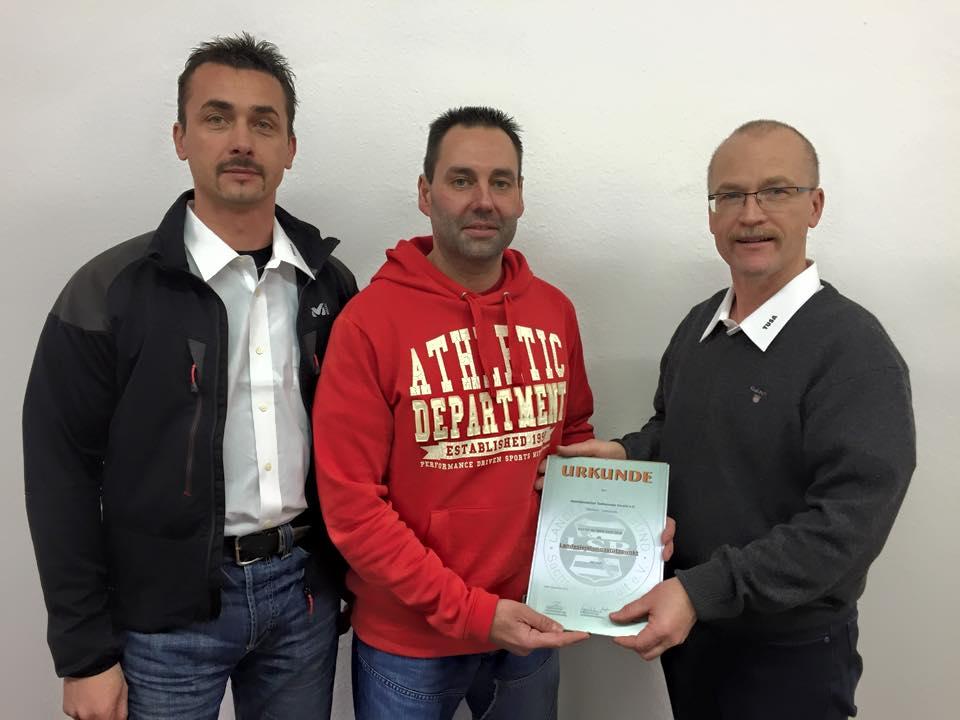 v.l.: Holger Klapproth-Stockmann, Jens Seume und Holger Goldschmidt.